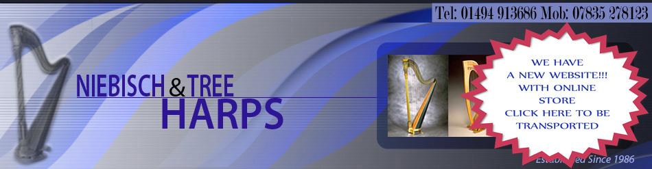 Harp Repair, Harp Restoration, Harp Servicing and Lever Harps